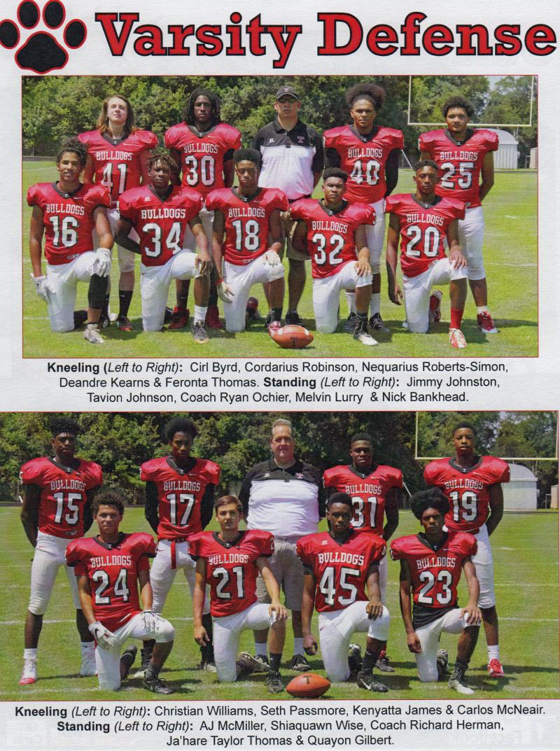 2016 Bulldogs Defense